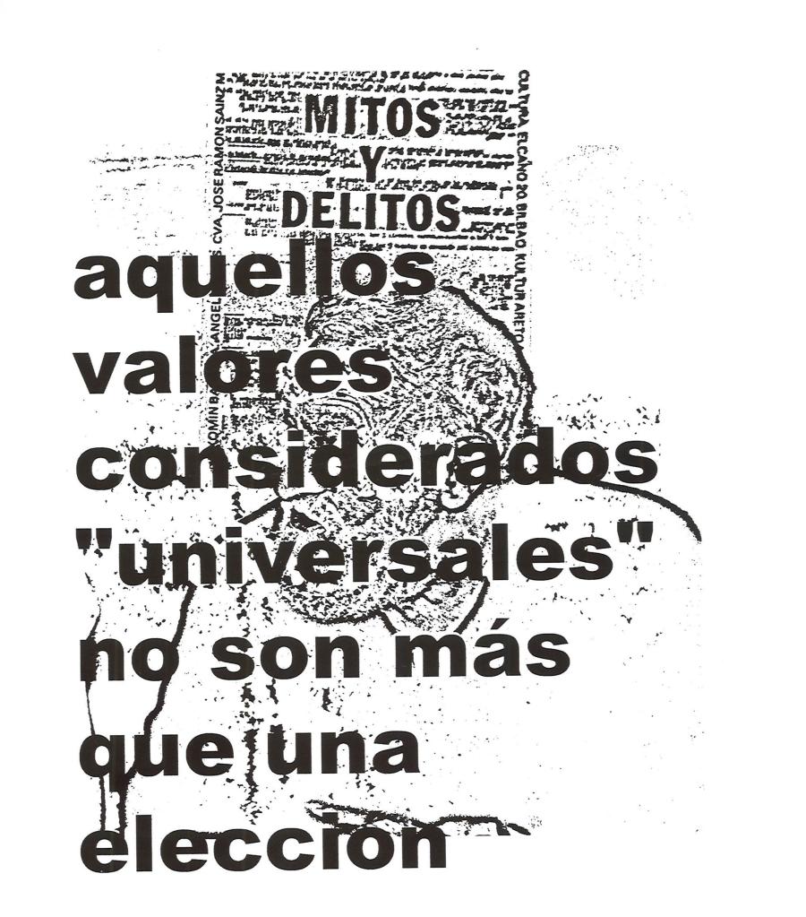 Txomin badiola-Aquellos valores considerdos universales no son mas que una elección